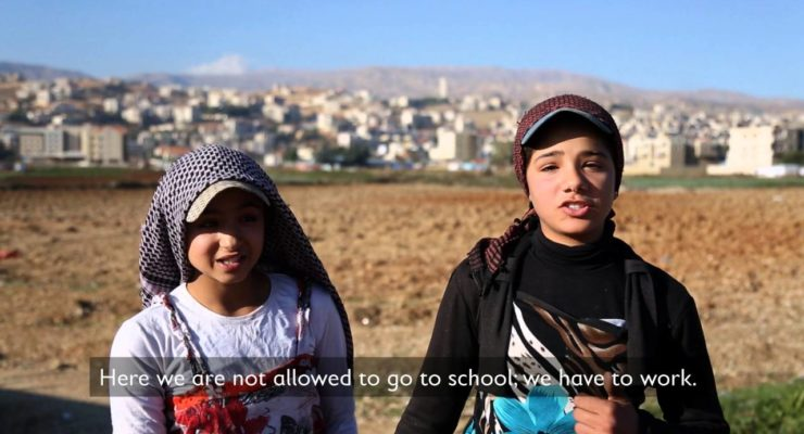 Caravan Schools and educating Syrian Refugee Children