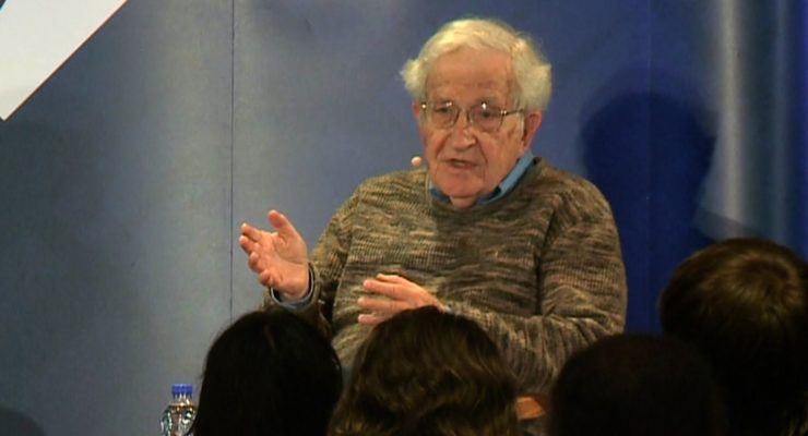 Chomsky:  Sanders Mobilizes Force That Could Change the Country