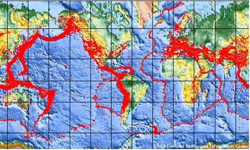 global earthquake zones western half of africa looks safe informed comment