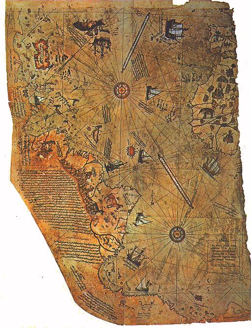 Mystifying the Map of Piri Reis
