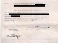 Official letter obtained by Civic revealing civilian deaths on January 23 2009