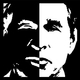 Two Faces Of Bush This Graphic Is Part
