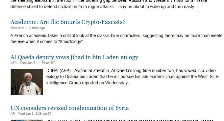 Which Headline Doesn't Fit?