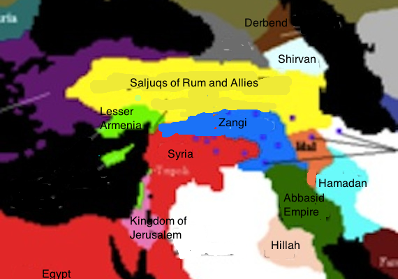 Neo-Zangid State erases Syria-Iraq Border, cuts Hizbullah off from Iran