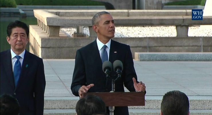 Obama in Hiroshima, Memorial Day and the Iran Deal