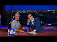 GOP Convention Roundup:  Jon Stewart Resurfaces on Colbert's Late Show