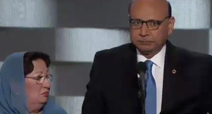 Muslim-American Parents of KIA Vet to Trump: Here's the Constitution