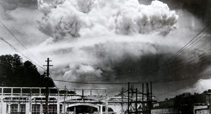 """Nagasaki, 1945: """"The world did not need your experiment"""""""