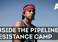 Native American Resistance Camp Fights Oil Pipeline