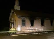 Black Mississippi Church Burned, Vandalized with 'Vote Trump'