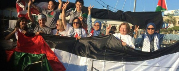 Israel bans for 10 yrs. Mairead Maguire, others on International Women's Boat to Gaza