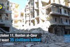 Russia/Syria: War Crimes in Month of Bombing Aleppo