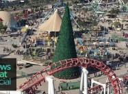 Wealthy Muslim raised 85′ tall Christmas Tree:  Supporting Iraqi Christians, Forgetting Nat'l Anguish