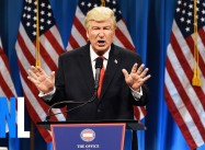 Trump and the Pee-Pee Party:  Alec Baldwin at SNL