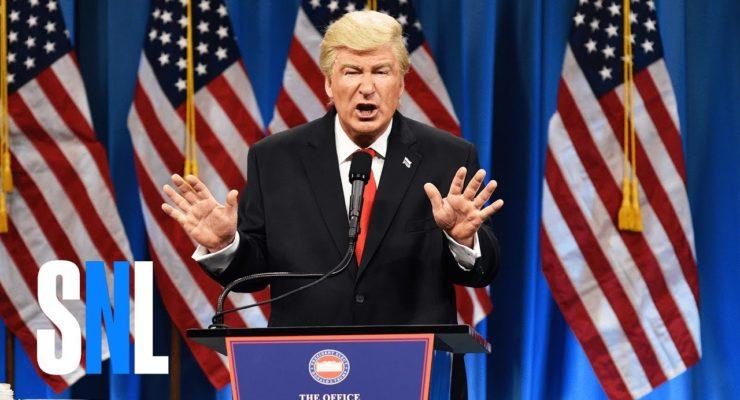 Trump and the Pee-Pee Party:  Alec Baldwin at SNL