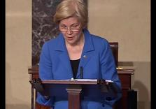 Sen. Elizabeth Warren silenced on Floor for Reading King Letter re: Sessions