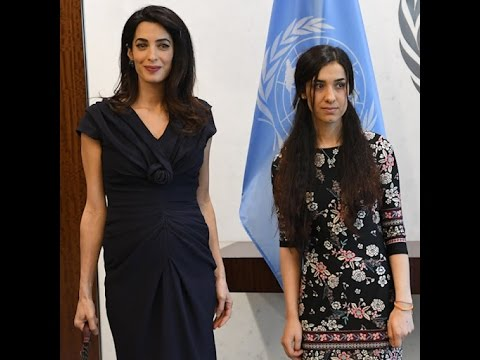 Amal Clooney and Nadia Murad Want to Stop an ISIL Genocide