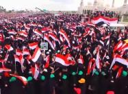 As 100,000 Rally in Yemen, Houthis Defy Trump, Saudis