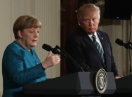 Trump picks fights with US Allies: Germany, NATO, EU, Britain etc.