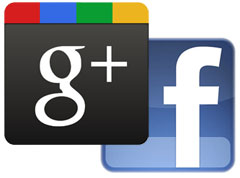 google-plus-facebook-logos