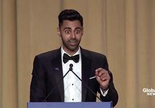 Hassan Minhaj was told not to Roast Trump, But did Anyway (WH Correspondents)