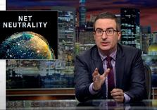John Oliver:  Equal access to Internet once More Threatened