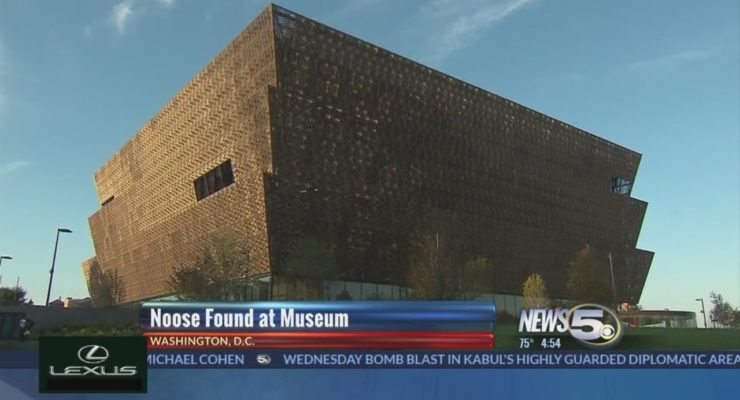In Trump's DC, Noose Found in African American Museum