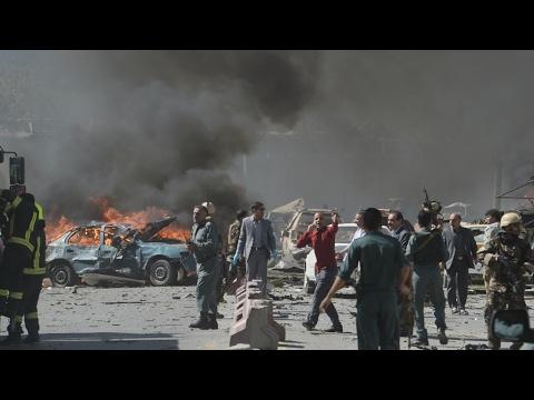 Is US Winning its Longest War?  Huge Bomb Hits Kabul Embassy Row, kills at least 80