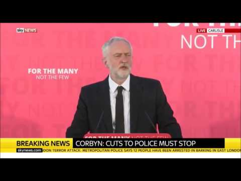 The Jeremy Corbyn response to Trump, May and Terror you won't see on Corporate News