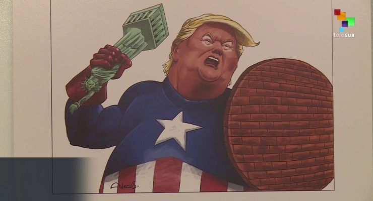 Iran's 'Trumpism' Cartoon Contest Draws 1,600 Submissions