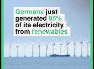 Record: Germany at 35% Renewables in Electricity Production