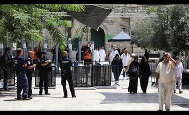 Screwdriver Attack at Israeli Embassy in Jordan over Aqsa Mosque Tensions