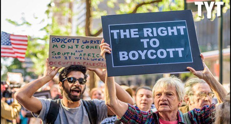 1st Amendment RIP: 50 Senators want to make Boycotting Israel a Felony