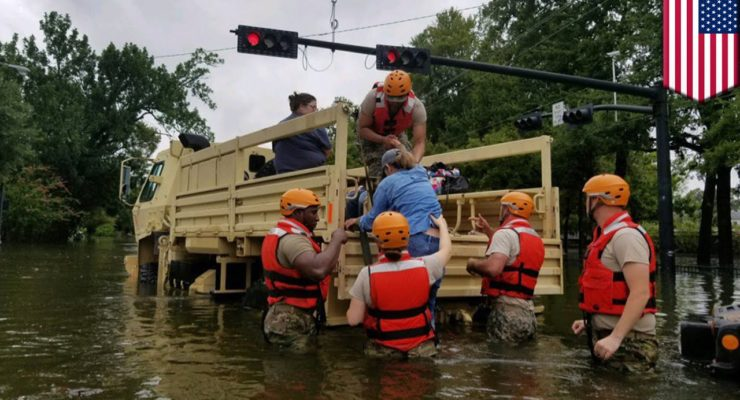 Are Houstonians 1st Wave of New Climate Change Refugees?