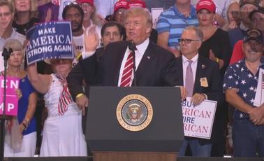 Trump, the Magical WASP, Deepens Racial Divide again in Phoenix