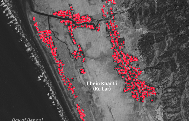 Burma: Satellite Shows Massive Arson against Muslims by Buddhists