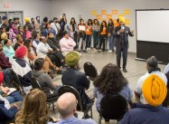 Muslim-hating Heckler harasses Sikh Politician; he replies with 'Love and Courage'