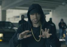 Detroit's Eminem raps against Trump, defends Muslims