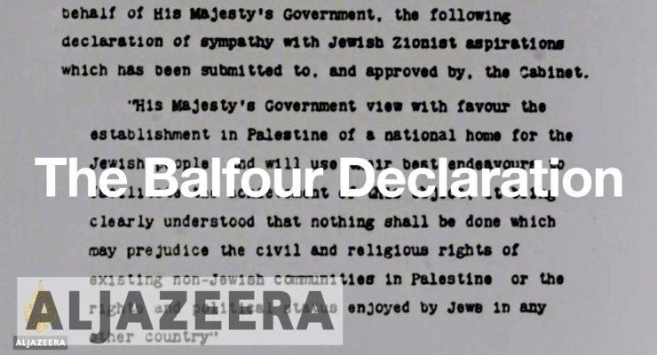 Abbas:  British gov't should recognize Palestine on Balfour centenary
