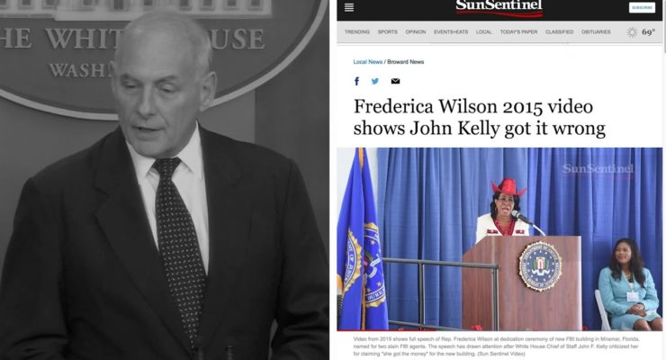No Compromise: Let's not forget Kelly's 'Empty Barrel' Smear