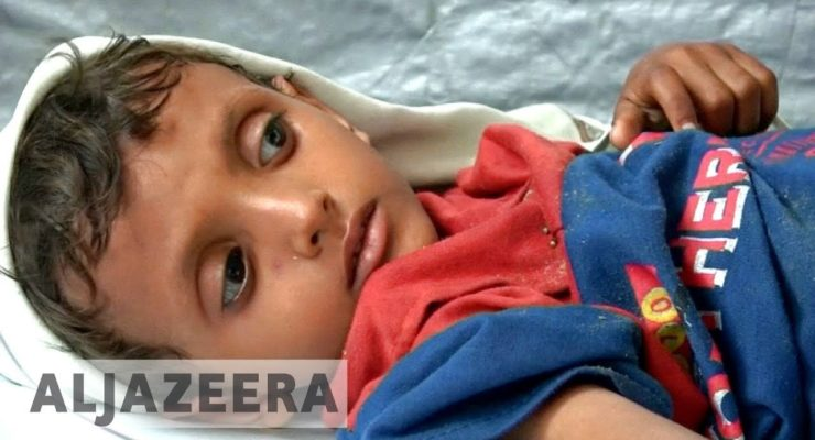 Saudi Arabia urged to end Yemen blockade: Fear of Unprecedented Famine, Disease