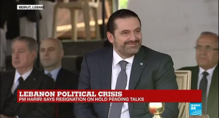 Saudi Debacle as Hariri returns to Beirut, remains PM