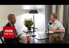 Barack Obama tells Prince Harry how he felt after Donald Trump's inauguration (Video)