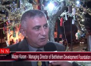 Bethlehem Olive Tree decorated to Reflect City's Suffering under Israeli Occupation