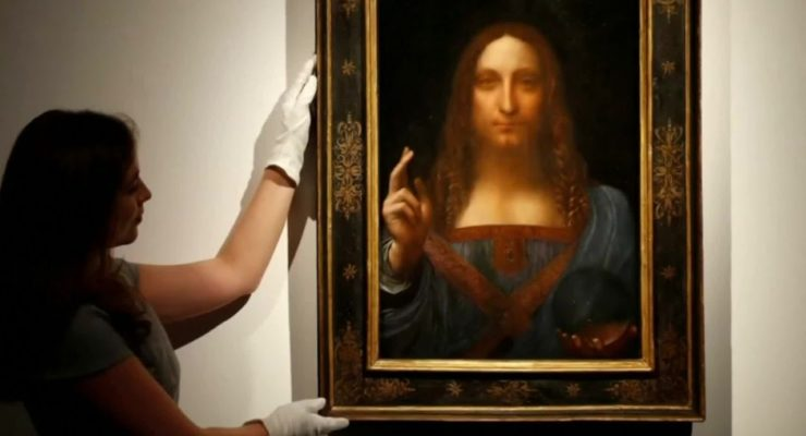 Saudi Prince who Bought da Vinci Painting could have given Sight to 9 Million Instead