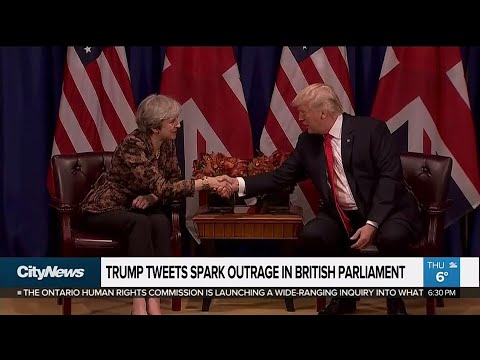 Trump 'Working Visit' to Britain has to be Cancelled after he outrages all 65 million Britons