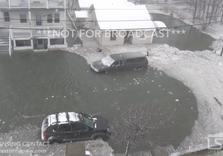 Boston breaks the highest ever recorded tide, followed by frozen floods