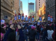 Thousands protest for Women's Rights in Los Angeles, around Country (Video)