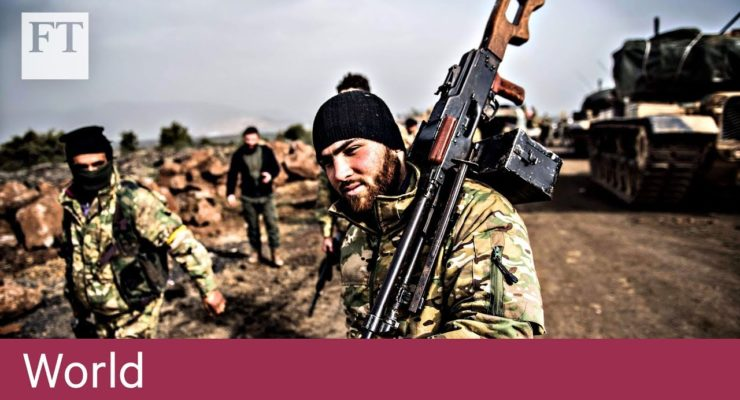 Are Kurds, Shiite Militias and the Baath Gov't allying against Turkey's Afrin Op?