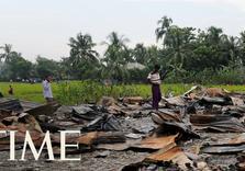Buddhist Burma Bulldozing Muslim Rohingya Villages: Satellite Photos